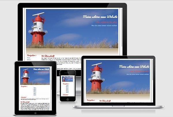 Responsive Template Nr. 30