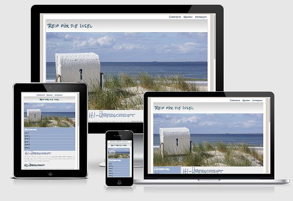 Fein Website Responsive Vorlage Fotos - Entry Level Resume Vorlagen ...