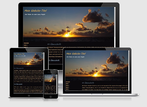 Responsive Template Nr. 54