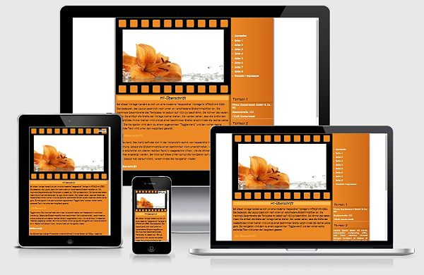Responsive Template Nr. 78a